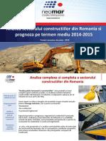 Analiza Pietei Romanesti a Constructiilor 2014 2015