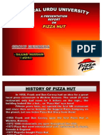 Swot analysis PIZZA HUT