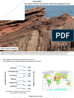 Irish Stratigraphy How Plate Tectonics and Climate Shaped the Geological Record HANDOUTS