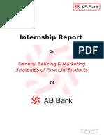54827773 Internship Report AB Bank