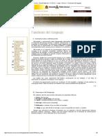 Funciones Del Lenguaje y Texto Periodístico