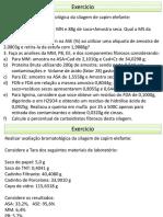 Exercicios Bromatologia - Calculos Laboratoriais (1)
