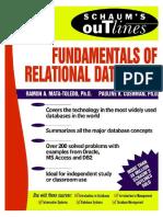 Relational Databases - Schaum