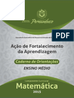 AcaoDeFortalecimento DaAprendizagem CADERNO de ORIENTACOES ENSINO MEDIO Matematica
