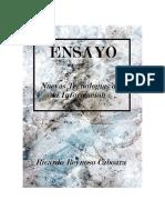 ENSAYO Scifi Tecnología