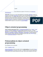 Abstraction & Other Definition