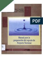 Manual Para La Preparacion Del Reporte