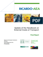 2014 Handbook External Costs Transport