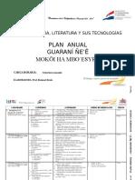 2lengua Guarani2 Plan Anual