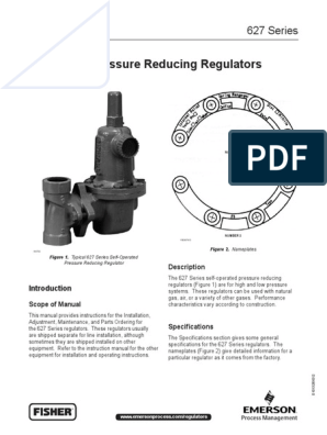 Fisher 627 Regulator | Valve | Gases