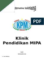 Proposal Klub Matematika SMP Al-Furqan MQ