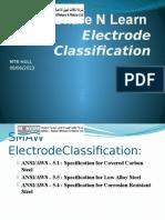 Electrode Classifixation FCAW