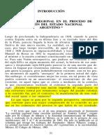 Chiaramonte - Cuestión Regional