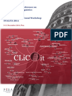 Proceedings CLICit 2014