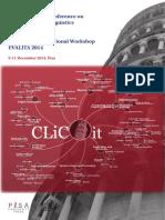 Proceedings CLICit 2014