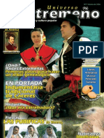 Revista Universo Extremeño sobre dialectología y cultura popular de Extremadura