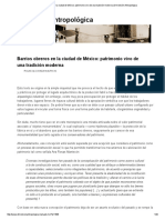 Barrios Obreros en La Ciudad de México_ Patrimonio Vivo de Una Tradición Moderna _ Dimensión Antropológica