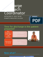 discharge outreach coordinator powerpoint