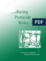 Reducing Pesticide Risks