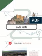 Balnearios Folletos Turisticos Zaragoza Bajo Ebro