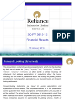 RIL 3Q FY16 Analyst Presentation 19Jan16