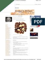Receita de Grãos de Café Banhados a Chocolate