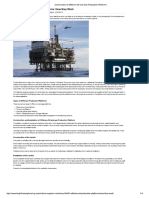 Construction of Offshore...as Production Platforms