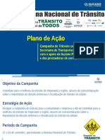 Campanha de Transito Setembro 2013.