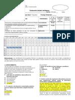 Diagnótico 4to Fila A