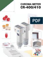 Colorimetro Cr 410