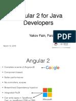 angular for java