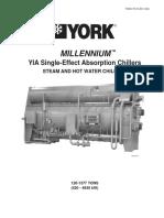 YORK - Chiller Millenium - 120 a 1377 Tons