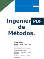 Proyecto Ingenieria de Métodos