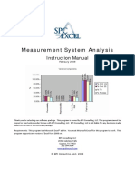 Measurement Systems Analysis Help Files