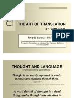 1 a Arte de Traduzir