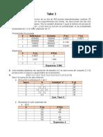 Taller Probabilidad - Estadística