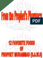 Prophet's Favorite Food