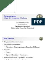 Clase Programación 10