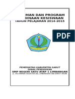 Contoh Program Kerja Pengembangan Kesiswaan SMP.doc
