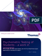 Case Study Thomas Ppa Assessments