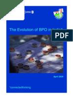 Evolution of Bpo in India