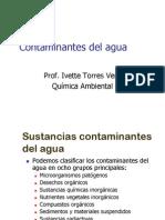 Contaminantes del agua (presentación)