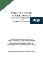 PRENTENMISSAAL- C - JAARTIJD