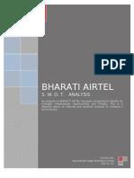 Swot Analysis of Airtel