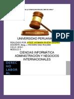 Trabajo Académico de Derecho Laboral 1