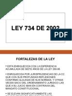 PPT LEY 734 2002 COD. ÚNICO D..ppt