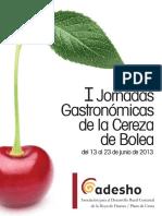 Recetario Cereza 2013