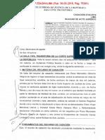 Nulidad de Acto Jurídico - Cas. Nº 2724-2014 Lima - No Debe Confundirse La Participacion de Una Persona Como Socio o Accionista de Una Persona Juridica
