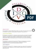 Presentación Orientación Vocacional DOVI