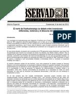 El Observador Informe Especial Huehuetenango PDF